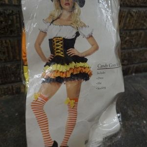 Candy corn witch brand new